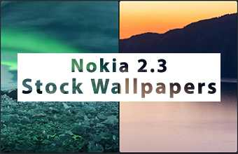 Nokia 2.3 Stock Wallpapers