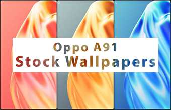 Oppo A91 Stock Wallpapers