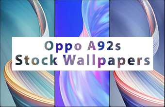 Oppo A92s Stock Wallpapers