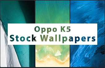 Oppo K5 Stock Wallpapers