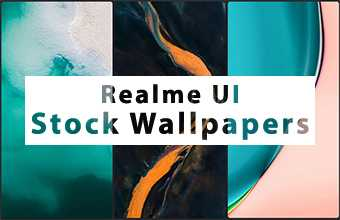 Realme UI Stock Wallpapers