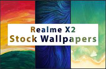 Realme X2 Stock Wallpapers
