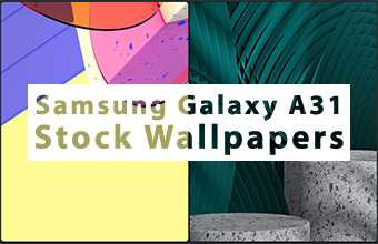 Samsung Galaxy A31 Stock Wallpapers