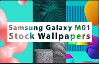 Samsung Galaxy M01 Stock Wallpapers