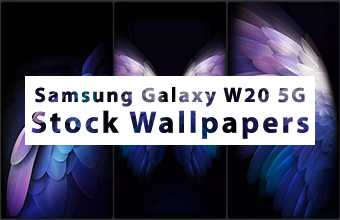 Samsung Galaxy W20 5G Stock Wallpapers