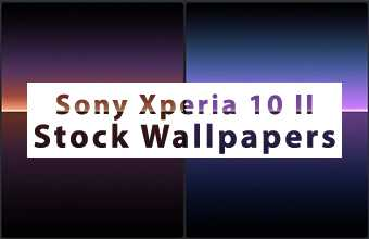Sony Xperia 10 II Stock Wallpapers