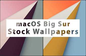 macOS Big Sur Stock Wallpapers