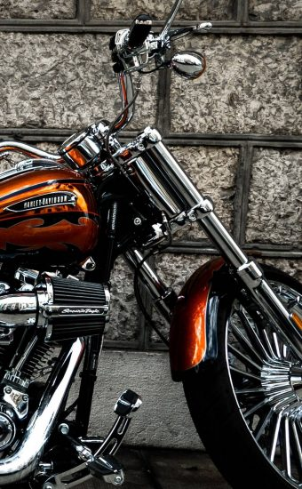 Harley Davidson Phone Wallpaper 1125x2436 10 340x550