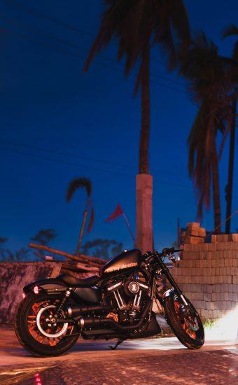Harley Davidson Phone Wallpaper 4000x5000 01 340x550