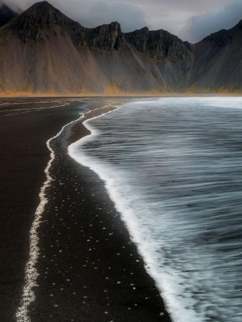 Beach Foam Iceland Mountain Nature T0 Wallpaper 1620x2160 1 340x453