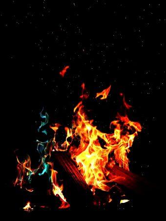 Fire Flame Dark Wallpaper 1620x2160 1 340x453