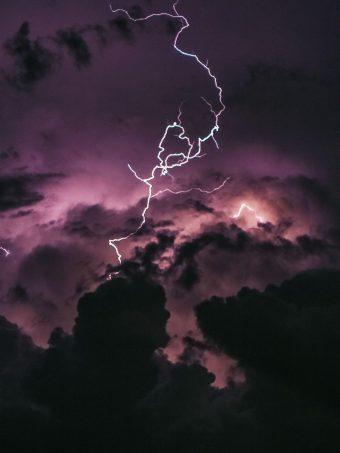 Lightning In Clouds Bj Wallpaper 1620x2160 1 340x453