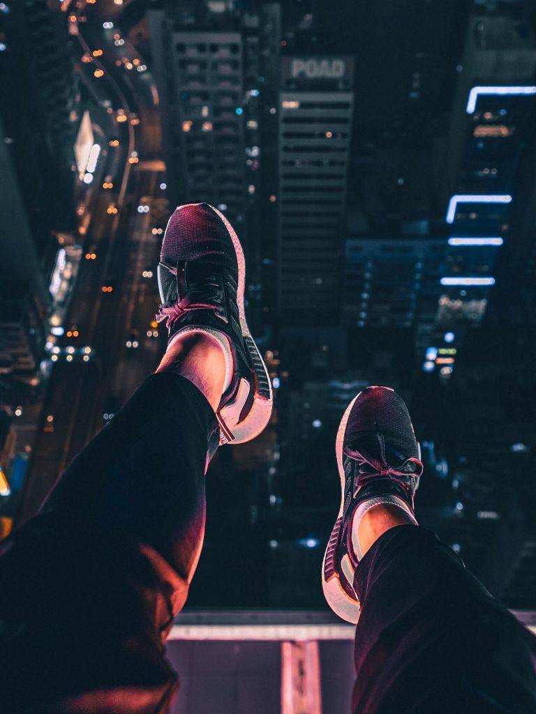 Night City Feet Aerial View 1620x2160 1 768x1024
