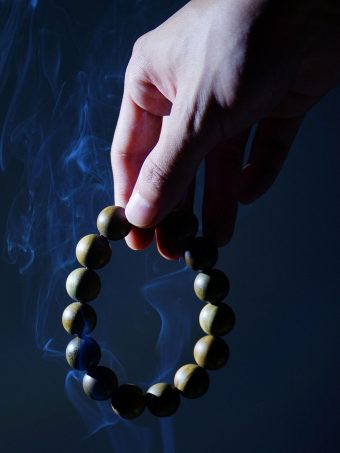 Rosary Hand Smoke Wallpaper 1620x2160 1 340x453