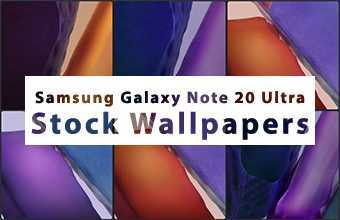 Samsung Galaxy Note 20 Ultra Stock Wallpaper