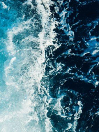 Sea Foam Surf Wallpaper 1620x2160 1 340x453