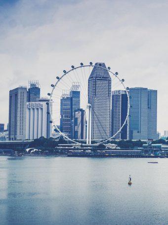 Singapore Skyscrapers Beach Ferris Wheel Wallpaper 1620x2160 1 340x453