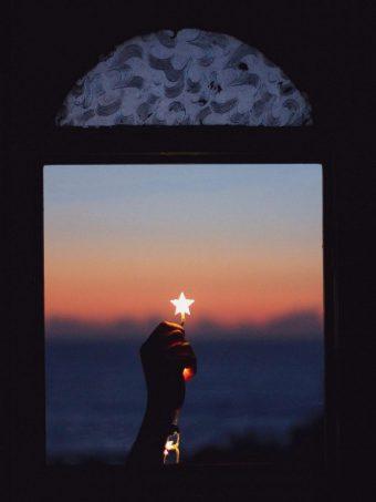 Window Star Hand Night Wallpaper 1620x2160 1 340x453