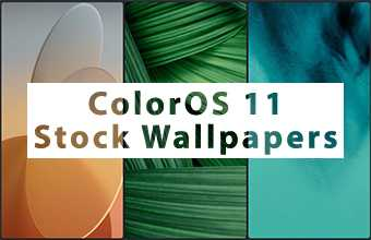 ColorOS 11 Stock Wallpapers