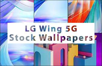 LG Wing 5G Stock Wallpapers