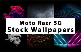Moto Razr 5G Stock Wallpapers