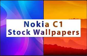 Nokia C1 Stock Wallpapers
