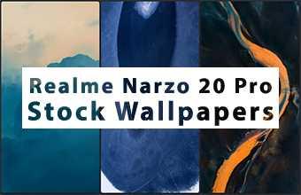 Realme Narzo 20 Pro Stock Wallpapers
