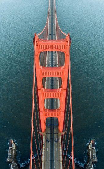 Golden Gate Bridge Wallpaper 1440x2560 12 340x550