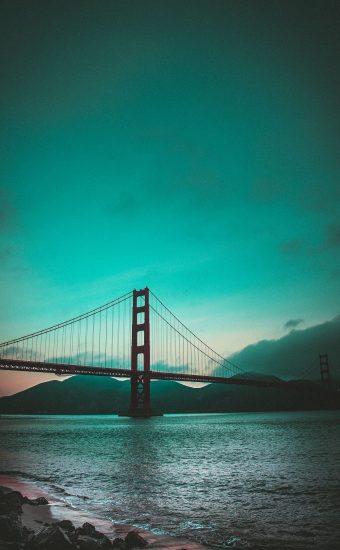 Golden Gate Bridge Wallpaper 1440x2560 17 340x550