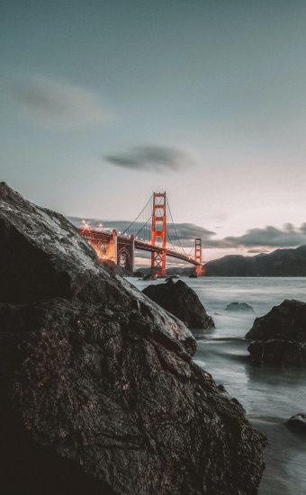 Golden Gate Bridge Wallpaper 1440x2560 19 340x550