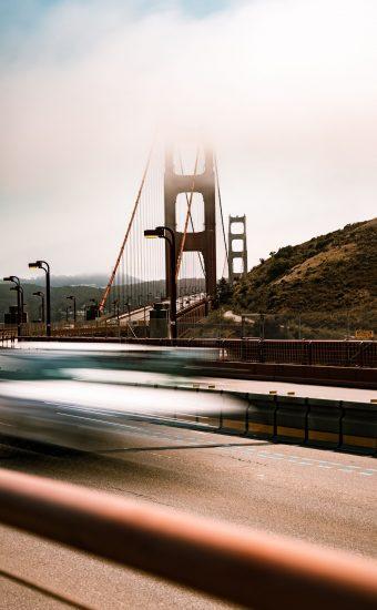 Golden Gate Bridge Wallpaper 1687x3000 24 340x550