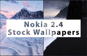 Nokia 2.4 Stock Wallpapers