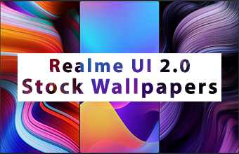 Realme UI 2.0 Stock Wallpapers