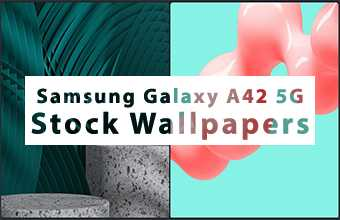 Samsung Galaxy A42 5G Stock Wallpapers