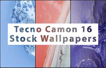 Tecno Camon 16 Stock Wallpapers