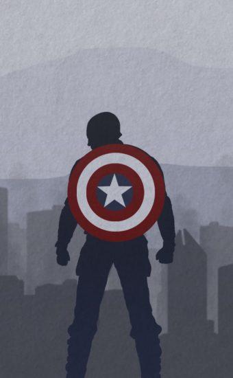 Captain America Wallpaper [1080x2280] - 015