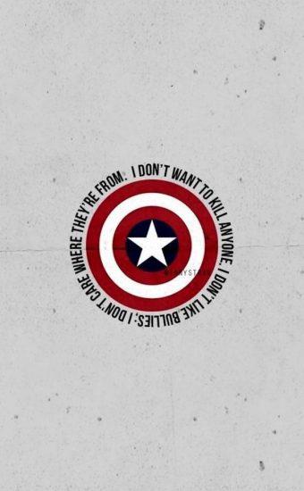 Captain America Wallpaper [606x1280] - 027
