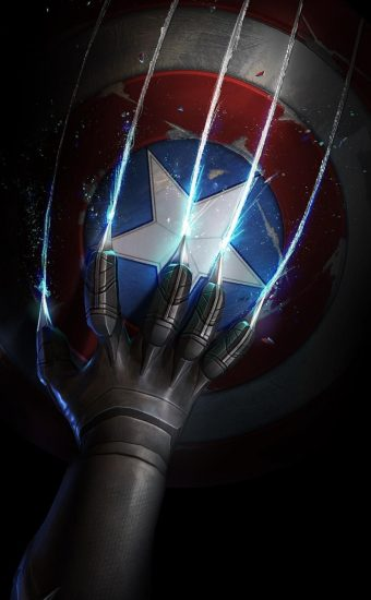 Captain America Wallpaper [909x1920] - 011