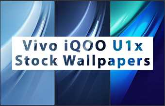 Vivo iQOO U1x Stock Wallpapers