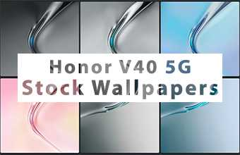 Honor V40 5G Stock Wallpapers