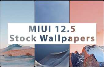 MIUI 12.5 Stock Wallpapers