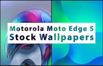Motorola Moto Edge S Stock Wallpapers