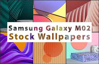 Samsung Galaxy M02 Stock Wallpapers