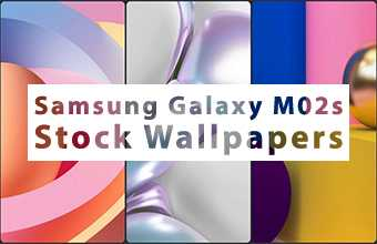 Samsung Galaxy M02s Stock Wallpapers