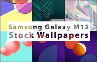 Samsung Galaxy M12 Stock Wallpapers