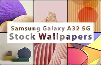 Samsung Galaxy A32 5G Stock Wallpapers