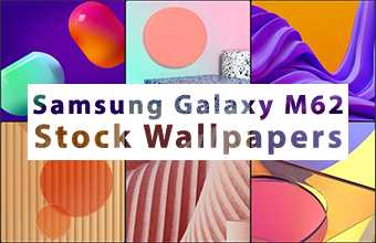 Samsung Galaxy M62 Stock Wallpapers