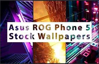 Asus ROG Phone 5 Stock Wallpapers