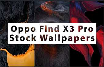 Oppo Find X3 Pro Stock Wallpapers