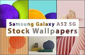 Samsung Galaxy A52 5G Stock Wallpapers